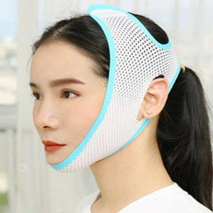 Breathable V Face Cheek Lift Up Band Face Thin Mask Reduce Double Chin V-Line Shaping Bandage Anti Wrinkle Tension Firming Belt | akolzol