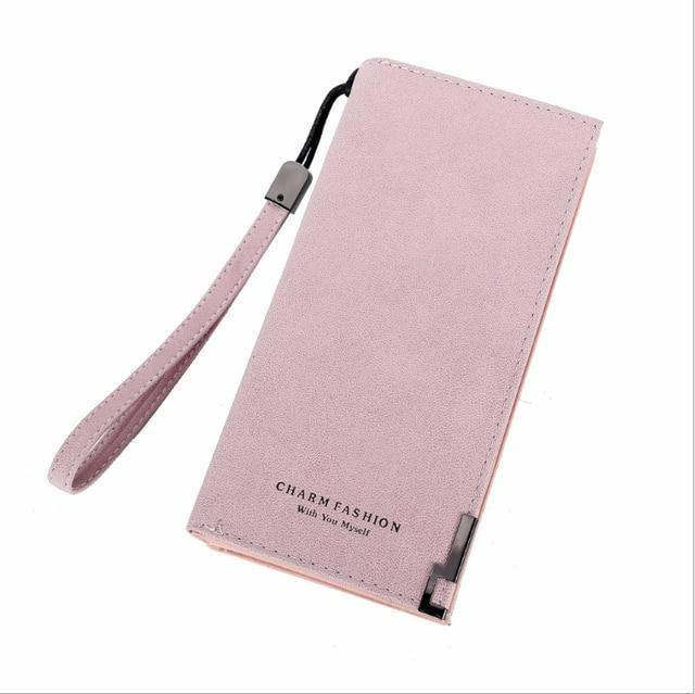 Hot Sales Brand Wallet Women Scrub Leather Lady Purses High Quality Ladies Clutch Wallet Long Female Wallet Carteira Feminina |  | akolzol