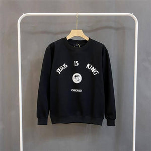 ye must be Born again Hoodie CPFM XYZ KIDS SEE GHOSTS Hoodies Asian Size Kanye West Sweatshirts High Quality Pullovers | akolzol