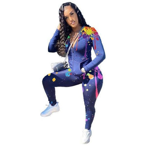 Sport Two Piece Set for Womens Tracksuit Hoodies Pants Set Tie Dye 2 Piece Sets Womens Outfits Fall Sweat Suits Women Wholesale | akolzol