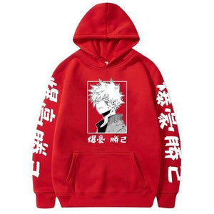 My Hero Academia Katsuki Bakugo Hoodies Sweatshirt Unisex Clothes Men Women Moleton | akolzol