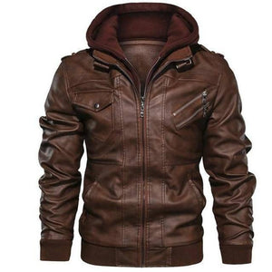 Mens Leather Jackets High Quality Classic Motorcycle Jacket Male Plus faux leather jacket men spring