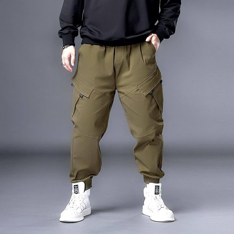 Plus 7XL 6XL XXXXXL Men Hip Hop Black Cargo Pants joggers Sweatpants Overalls Men Streetwear Harem Pants Women Fashions Trousers | akolzol