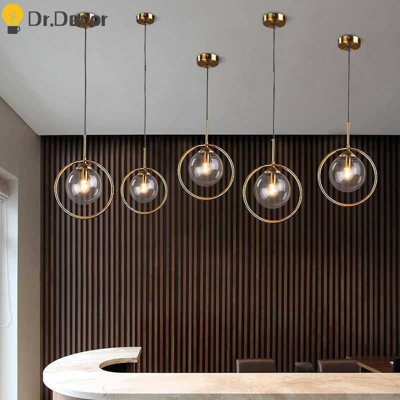 Modern Decor Pendant Lights Simple Amber Glass Pendant Lamps Lighting Living Room Nordic Indoor Hanging Lamps Bar Light Fixtures |  | akolzol