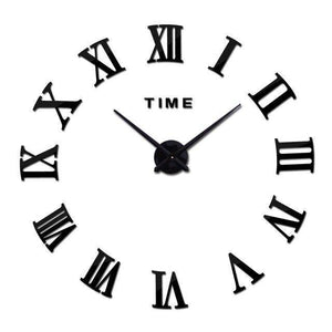 2021 top fashion new free shipping Modern clock watch Wall Stickers clocks reloj de pared home decoration horloge Needle Quartz | akolzol