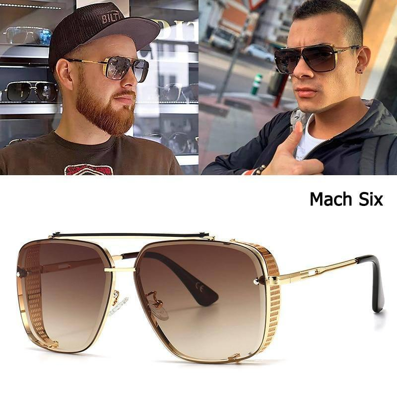 JackJad 2021 Fashion Mach Six Limited Edition Style Sunglasses Cool Vintage Side Shield Brand Design Sun Glasses Oculos De Sol | akolzol