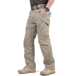 Military Tactical Pants Men Breathable Quick Dry SWAT Combat Army Cargo Trousers Summer Waterproof Casual Multi-pocket Pants