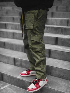 Cargo Pants Men 2021 Hip Hop Streetwear Jogger Pant FashionTrousers Gyms Fitness Casual Joggers Sweatpants Men Pants |  | akolzol