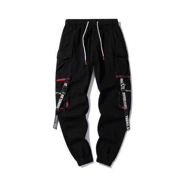 Prowow 2021 New Summer Black Hip Hop Cargo Pants Men Streetwear Cotton Joggers Fashion Sweatpants Casual Harem Trousers | akolzol