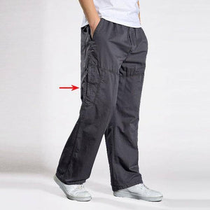 Summer Autumn casual Pants men cargo pants cotton loose trousers mens pants overalls Straight Joggers Homme Plus Size 6XL | akolzol