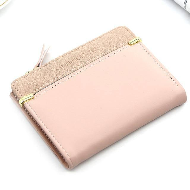Women's Wallet Short Women Coin Purse Fashion Wallets For Woman Card Holder Small Ladies Wallet Female Hasp Mini Clutch For Girl | akolzol