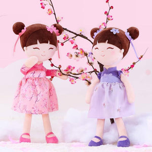 Gloveleya Plush Toys Chinese Style Ten scroll fairy 2021 New Design Cloth Baby Girl Ragdoll Dolls Baby Girl Gifts Ideas | akolzol
