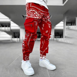 Hip hop printing pants men trousers fashion streetwear sweatpants for men joggers High street Loose cargo pants men |  | akolzol