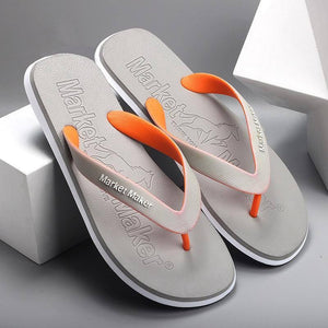Casual Shoes Non-slip Slides Summer Men Slippers Bathroom Outdoor Sandals Summer Slippers Beach Shoes Soft Sole Flip Flops