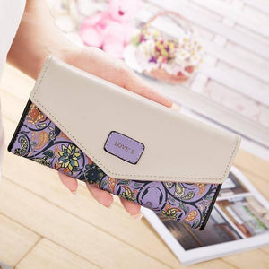 Famous Brand Designer Luxury Long Wallets Evening Clutch Female Bag Ladies Money Coin Women's Purse Carteras Cuzdan | akolzol