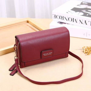Trending Brand Women's Bag Leather Designer Crossbody Bags Small PU Female Shoulder Bag New Solid Ladies Flap Wallet Messenger | akolzol