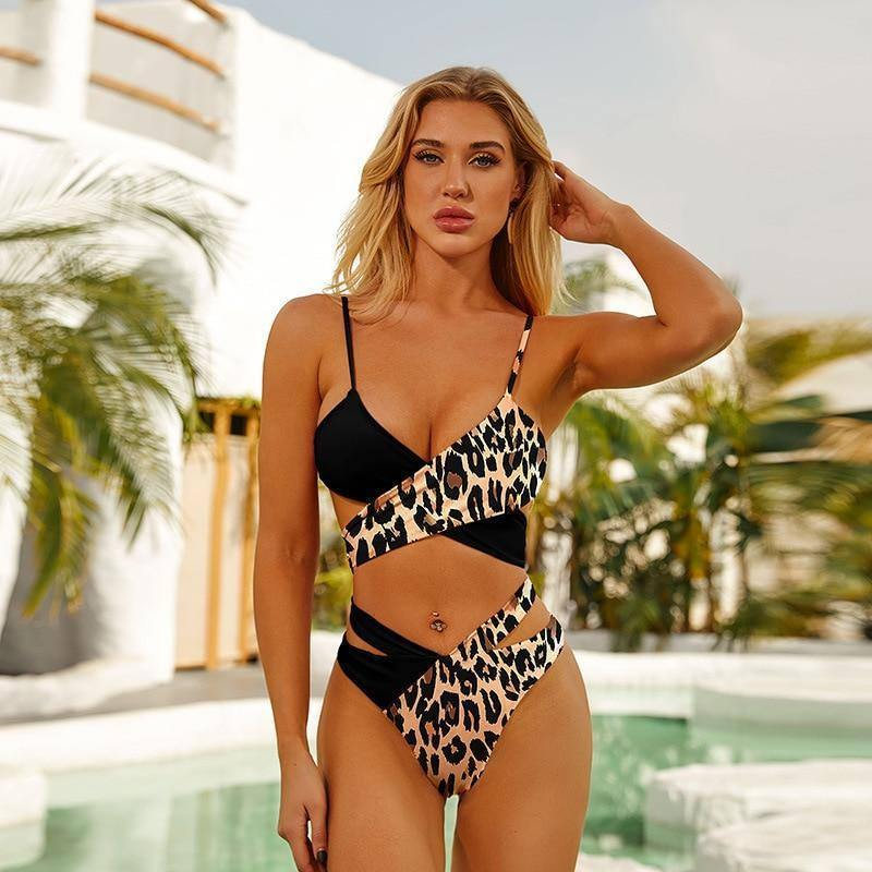Wire Free Brand Swimwear Women Swimsuit Sexy One Piece Micro Black Bikinis Set Swimming Beach Suit Beachwear 2021 Summer | akolzol