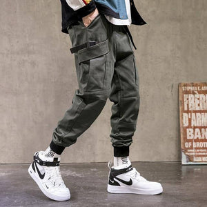 SingleRoad Mens Cargo Pants Men Fashion 2021 Army Green Joggers Hip Hop Harajuku Pants Male Japanese Streetwear Trousers For Men | akolzol