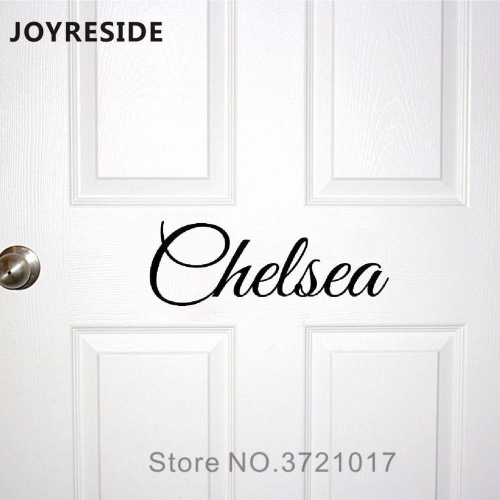 Kids Room Door Decal Custom Baby Names Wall Or Doors Decals Home House Warm Decoration Vinyl Sticker Customed Names M020 |  | akolzol