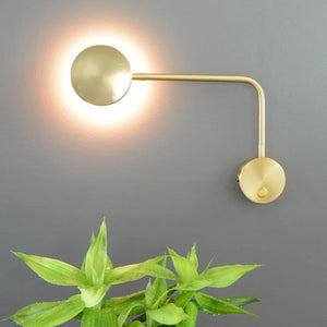 Modern Wall Lights Bedside For Bedroom Arm Swivel  LED Wall Lamp Living Room Home Lighting With Switch Wall Sconce |  | akolzol