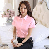 Women Shirts Elegant Women Cotton Blouses Shirt Plus Size Korean Fashion Woman White Shirts Blusas Mujer De Moda 2019 Women Tops
