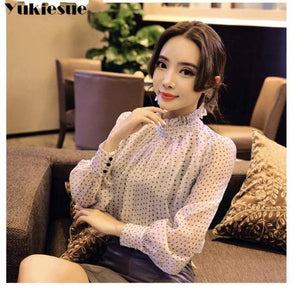 2021 summer woman top blusa mujer lace chiffon blouse women shirt long sleeve womens tops and blouses ladies plus size