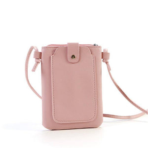 Mini Women's Bag Purse Portable Wallet Card Bags Mobile Phone Shoulder Bag Small Female Multi-function Women Black Bags |  | akolzol