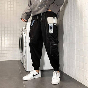 CHAIFENKO 2021 New Hot Jogger Leisure Sports Trousers Men Hip Hop Streetwear Beam Foot Cargo Pants Fashion Printing Men Pants