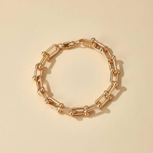 Tocona Bohemian Gold Color Alloy Metal Chain Choker Necklace for Women 2021 Trendy Adjustable Party Jewelry Wholesale 14956