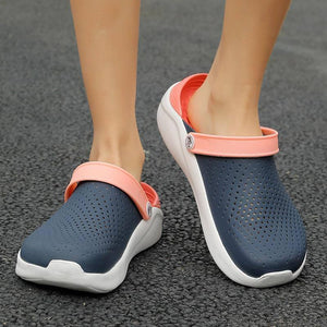 Women Men Summer Sandals Casual Slippers Light Breathable Swimming Walking Beach Sports Flip Flops Sandals Anti-slip Water Shoes