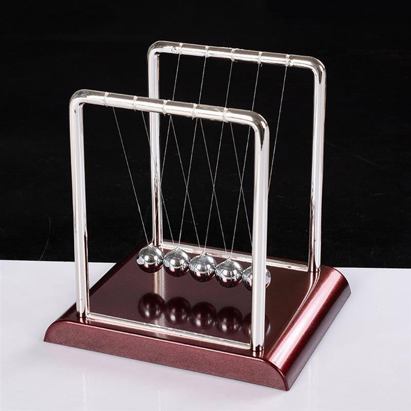 Newton Cradle Balance Steel Balls School Teaching Supplies Physics Science Pendulum Desk Toy Gifts Home Decoration |  | akolzol