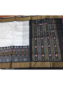 Beautiful Black Patola Saree