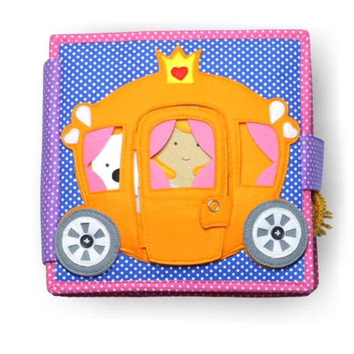 Prinzessin Quiet Book - Jolly Designs
