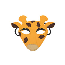 Load image into Gallery viewer, Giraffe Filzmaske - Jolly Designs