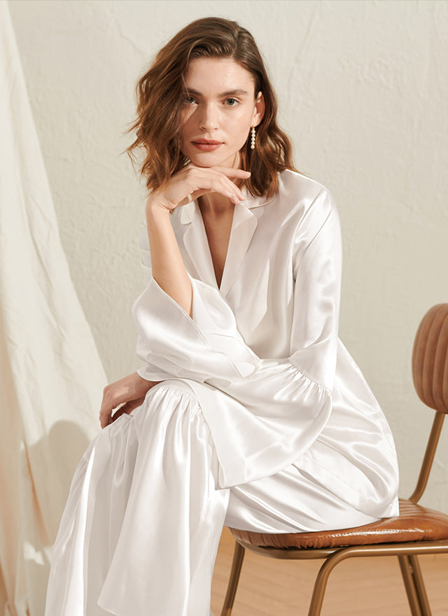 Opt for long pajamas if you're a fan of classic looks