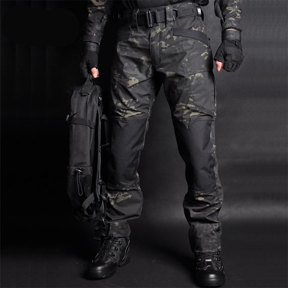Brand Tactical Pants Camouflage Military Casual Combat Cargo Pant Water Repellent Ripstop Men's Trousers