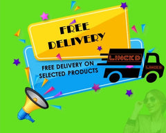 Linckd, Free Delivery on selected products