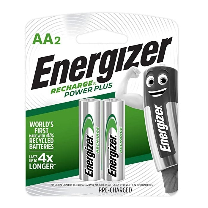 Energizer Rechargeable Battery AA NH15URP2 1500mAh