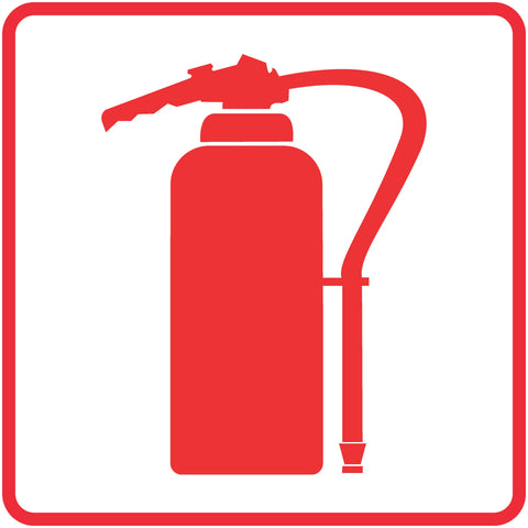 Fire Extinguisher safety sign (FB 2)