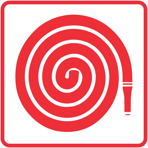 Fire Hose Reel safety sign  (FB 3)