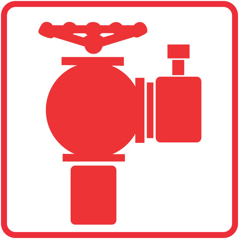 Fire Hydrant safety sign (FB 4)