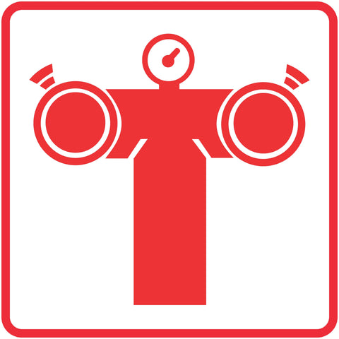 Fire Pump Connection safety sign (FB 8)