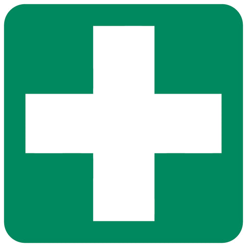 First-Aid Equipment safety sign (GA 1)
