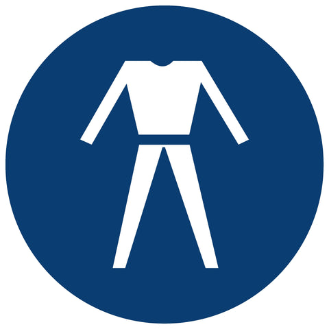 Overalls Shall Be Worn safety sign (MV 20)