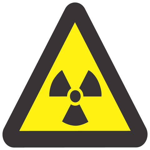 Beware Of Ionizing Radiation safety sign (WW 6)