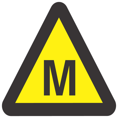 Beware Of Methane safety sign (WW 9)