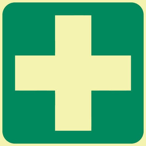 First-Aid Equipment safety sign (GP 7)