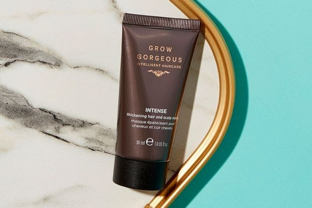 Grow Gorgeous Intense Thickening Hair and Scalp Mask, 30ml travel size