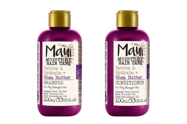 Maui Moisture Revive & Hydrate + Shea Butter Shampoo and Conditioner