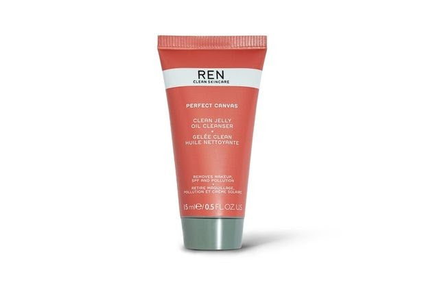 REN Clean Skincare Perfect Canvas Clean Jelly Oil Cleanser,